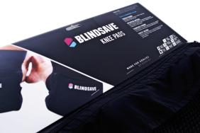 blindsave knee pads packaging