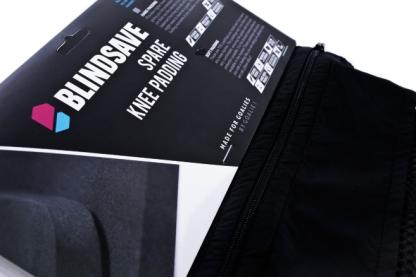 blindsave knee pads bag tag